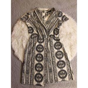 Boohoo Tribal Print Mini Dress *NWT*